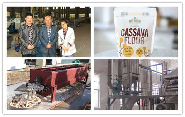 Cassava Flour Production Machin
