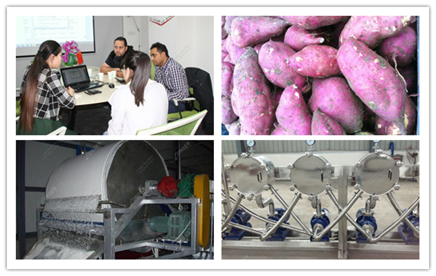 Sweet Potato Starch Machine| Sw