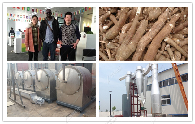 Cassava Starch Production Machine|Tapioca Processing Line