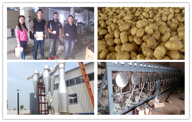 Potato Starch Machine Manufacture|Potato Starch Process Line Exporter