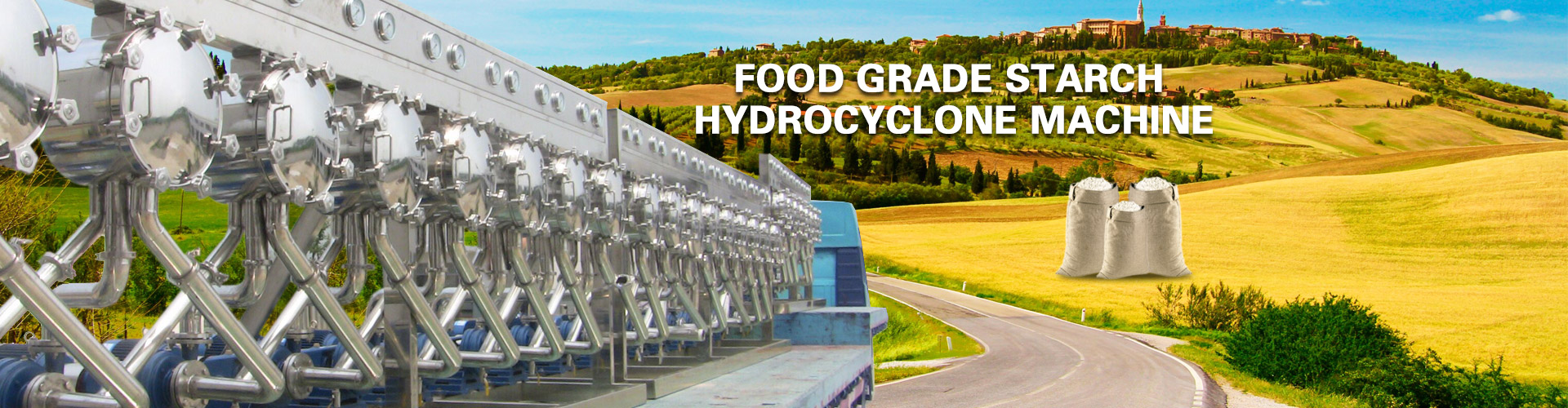 Starch Hydrocyclone Machine Exporter